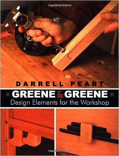 Greene and greene design elements for the workshop