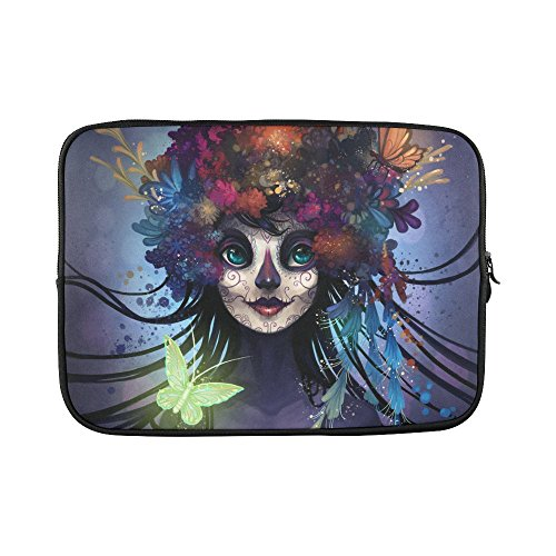 slsend-custom-sugar-skull-water-resistant-computer-bag-laptop-sleeve-notebook-case-cover-14-141-inch