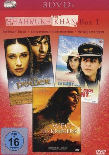 Shah Rukh Khan Box No. 1 [3 DVDs]