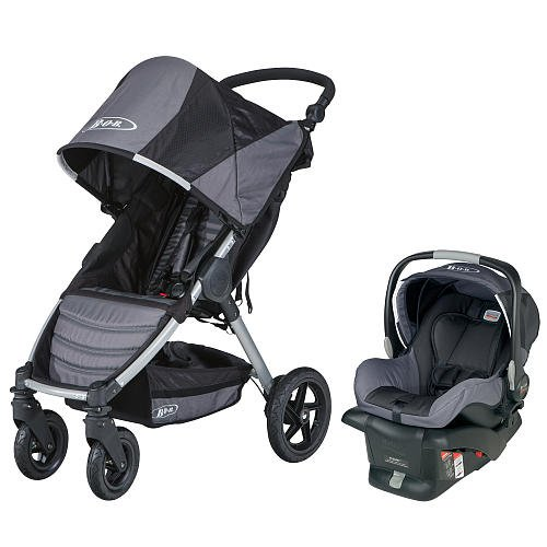 Bob Motion Travel System Stroller Black front-20279