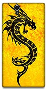 The Racoon Lean Dragon hard plastic printed back case / cover for Sony Xperia Z