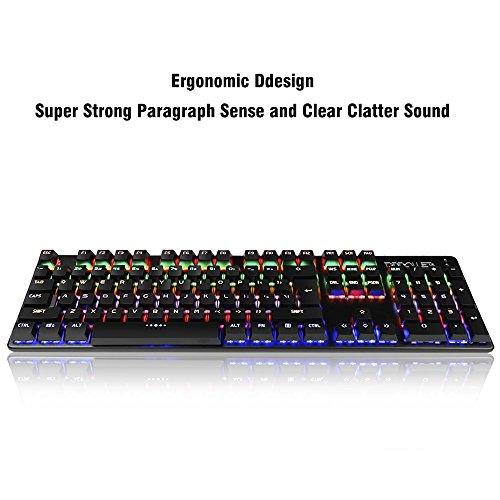 DBPOWER Mechanical Gaming Keyboard