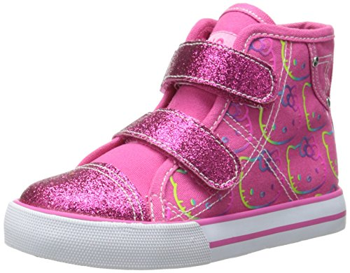 Hello Kitty Toddlers' Lil Sabrina High Top Sneaker PINK Size