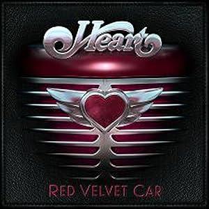 Heart Red Velvet Car cover