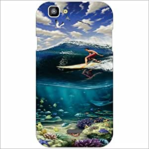 XOLO One - Silicon Watery Phone Cover