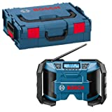 Bosch GML10.8V-LI 10.8V Jobsite Radio With L-BOXX (2x 2.0Ah Batteries)
