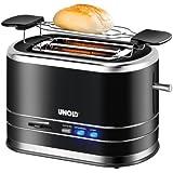 Unold Toaster Chrome Style, Negro, Cromo, 800 W, AC 230 V, 50 Hz - Tostadora