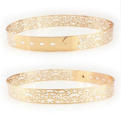 woman-fashion-metallic-mirror-waist-belt-buckle-hollow-out-waist-belt-gold