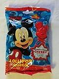 Mickey Mouse & Friends 4 Lollipop Rings