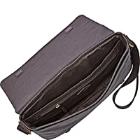Fossil Aiden Messenger - Gray from Fossil Duffel Bags and Backpacks
