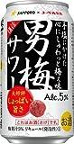 [2CS] サッポロ 男梅サワー (350ml×24本)×2箱