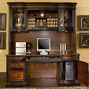 pacifica executive credenza with hutch home office computer desks