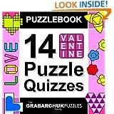 Puzzlebook: 14 Valentine Puzzle Quizzes (color and interactive!)