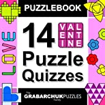 Puzzlebook: 14 Valentine Puzzle Quizzes (color and interactive!)