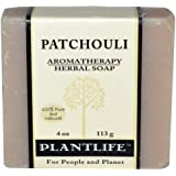 Patchouli 100% Pure & Natural Aromatherapy Herbal Soap- 4 oz (113g)