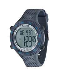 Sonata Fitness Watch With Pedometer For Men-77040PP01