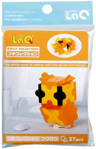 LaQ Petite Collection Owl 27 Pieces