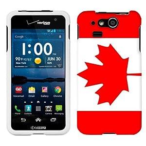 Kyocera Hydro Elite Canada Flag Phone Case Cover