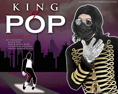 Elope Men's King of Pop Costume Kit