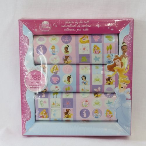 Disney Princess Stickers 288ct.