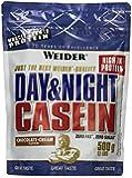 Weider Day & Night Casein Protein Schoko-Sahne, 1er Pack (1 x 500 g)