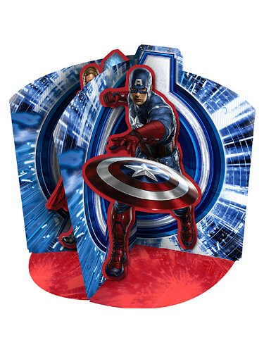 Hallmark Mens The Avengers Centerpiece Black Medium - 1