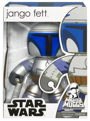 Star Wars Mighty Muggs Vinyl Figures Wave 3 Jango Fett