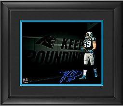 "Luke Kuechly Carolina Panthers Framed Autographed 11"" x 14"" Spotlight Photograph - Fanatics Authentic Certified"