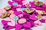 Pack of over 95pcs Pink&Purple variou...