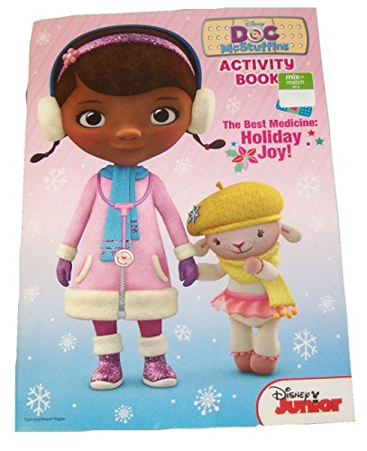 Disney Doc McStuffins Coloring & Activity Book ~ Christmas Edition (The Best Medicine: Holiday Joy; 2014; Exclusive Printing) - 1