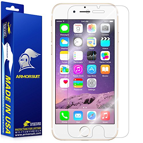 "iPhone 6s Screen Protector, ArmorSuit MilitaryShield - Apple iPhone 6 / 6s Screen Protector (4.7"") Extreme Clarity Shield with Lifetime Replacement"