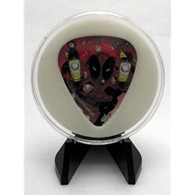 Amazon.com : Marvel Universe Hero Deadpool Guitar Pick With Display