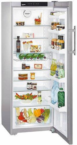 Bilder von Liebherr Stand-Kühlschrank KPesf 3620-20,Edelstahl 345 Liter Inhalt, EEK: A++