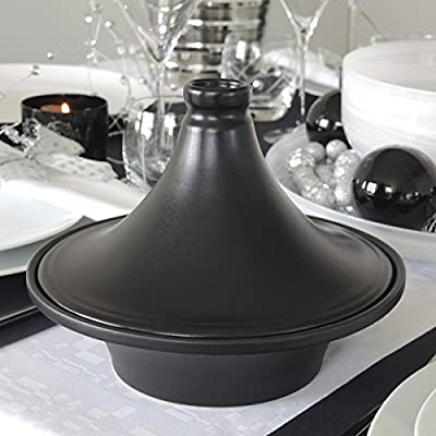 Domino Tagine Black GD by Bruno Evrard