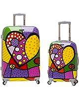 Rockland 2 Piece Upright Luggage Set