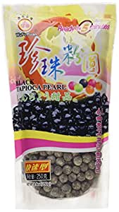 Amazon Com Wufuyuan Tapioca Pearl Black Net Wt 8