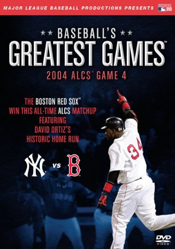 Baseball's Greatest Games: 2004 Alcs Game 4 [DVD] [Import]
