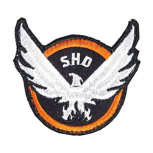 Clot Evil Fashion Game Camp The Division SHD Agent Embroidery Arm Badge