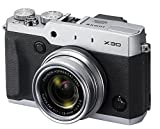 Fujifilm X30 Digital Camera - Silver (12MP, 4x Optical Zoom)