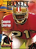 Beckett Football Monthly May 1995 Deion Sanders/San Francisco 49ers on Cover, Chris Carter/Minnesota Vikings (on back cover), Sterling Sharpe/Green Bay Packers, William Floyd/San Francisco