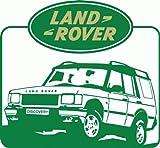 Land Rover Hochwertigen Auto-Autoaufkleber 12 x 12 cm