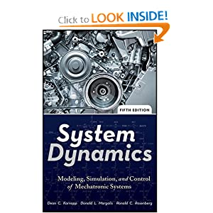 System Dynamics: Modeling, Simulation, and Control of Mechatronic