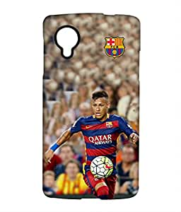STRIKE NEYMAR Phone Cover for LG Nexus 5 by Block Print Company