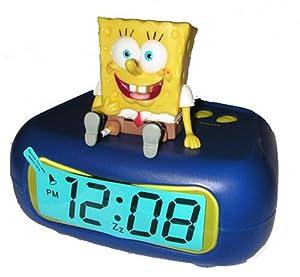 Nickelodeon Spongebob Squarepants LED Alarm Clock by MZ Berger & Co, inc
