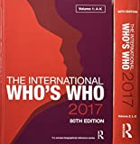 img - for The International Who's Who 2017 book / textbook / text book