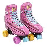 Disney Soy Luna Roller Skates Patines Authentic Original (34 - 35)