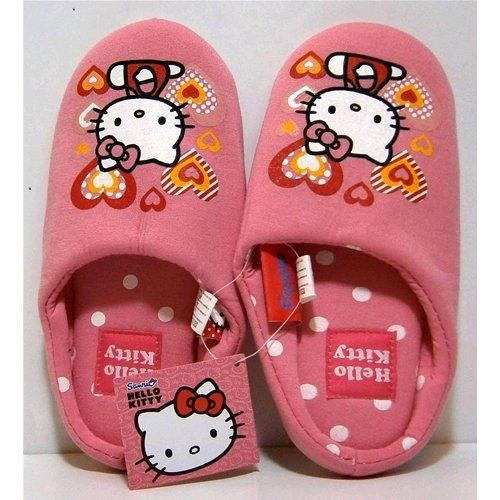 Pantofole babbucce ciabatte aperte Disney Hello Kitty dal numero 27 al 34