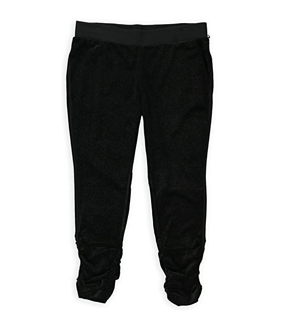 Juicy Couture Womens Sparkle Casual Lounge Pants