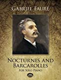 img - for Nocturnes and Barcarolles for Solo Piano (Dover Music for Piano) book / textbook / text book