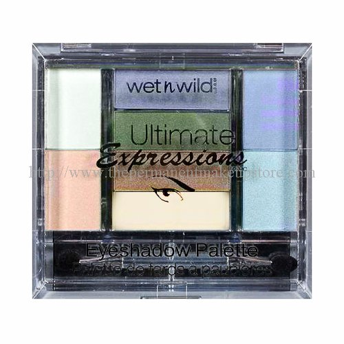 ウェットアンドワイルド ULTIMATE EXPRESSIONS EYE SHADOW PALETTE #398 FANTASY ISLAND